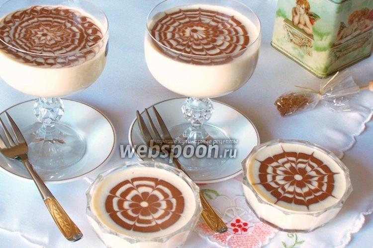 Фото Творожный десерт «Дуэт»