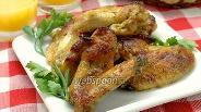 Фото рецепта Куриные крылышки в маринаде из грейпфрута