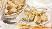 Фото рецепта Картофель, запечённый в кунжуте