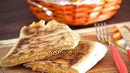 Фото рецепта Пьядина с картошкой, тыквой и рикоттой