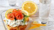 Фото рецепта Брюшки сёмги солёные с коньяком