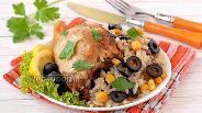 Фото рецепта Курица на рисовой подушке