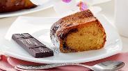 Фото рецепта Манник с шоколадом