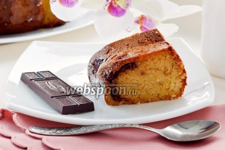 Фото Манник с шоколадом