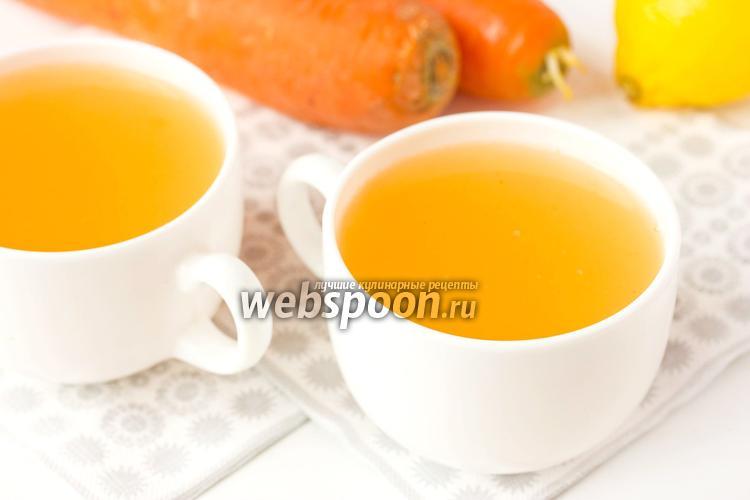 Фото Морковный кисель