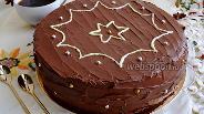 Фото рецепта Ирландский шоколадный торт