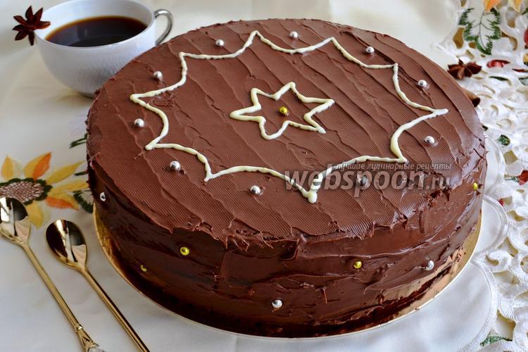 Фото Ирландский шоколадный торт