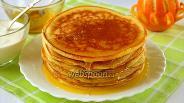 Фото рецепта Панкейки с рикоттой и апельсином