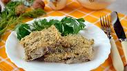 Фото рецепта Минтай в огуречно-ореховом соусе