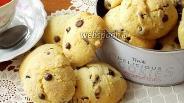 Фото рецепта Печенье с апельсином и шоколадом