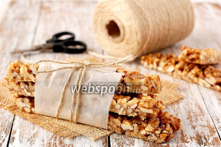 Фото Грильяж из грецких орехов