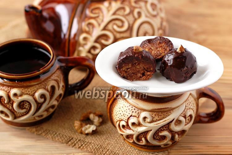 Фото Пирожное «Буковинский орех»