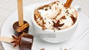 Фото рецепта Пряный шоколад на палочке