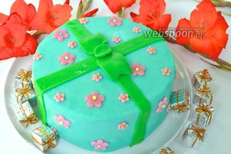 Торт «Подарок»