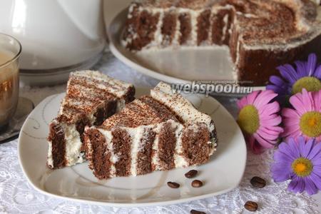 Шоколадный торт «Нежность»