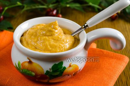 Соус-дип из тыквы
