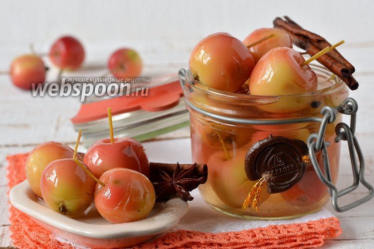 Фото Маринованные райские яблоки