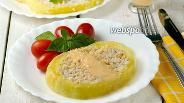 Фото рецепта Фаршированные кабачки в духовке
