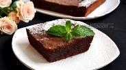 Фото рецепта Шоколадный торт «Бароззи»