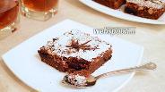 Фото рецепта Шоколадный пирог с черносливом