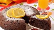 Фото рецепта Шоколадный бисквит на сметане в мультиварке
