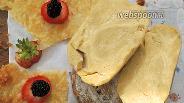 Фото рецепта Полуслоёное тесто на сметане