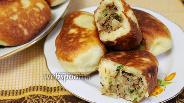 Фото рецепта Сочные жареные пирожки с мясом