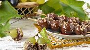 Фото рецепта Виноград в шоколаде