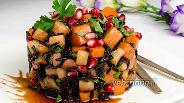 Фото рецепта Тёплый салат из тыквы