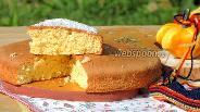 Фото рецепта Кокосовый бисквит