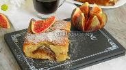Фото рецепта Пирог с инжиром