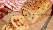 Фото рецепта Хлеб с острым перцем и сыром