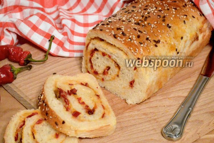Фото Хлеб с острым перцем и сыром