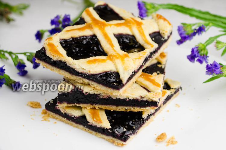 Фото Черничный пирог