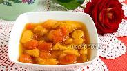 Фото рецепта Варенье из персиков и кураги