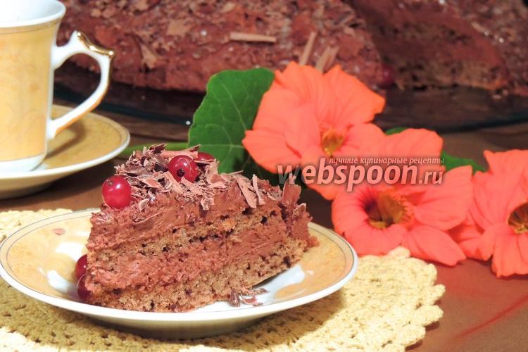 Фото Шведский шоколадный торт