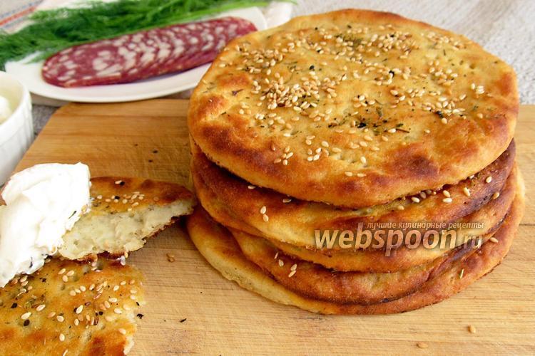 Картофельная лепешка с розмарином - рецепт пошаговый с фото