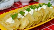 Фото рецепта Шницели из капусты с сыром