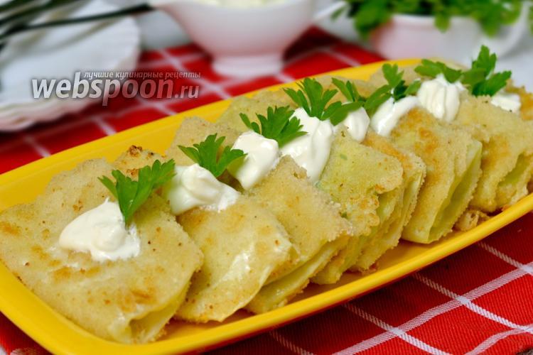 Фото Шницели из капусты с сыром