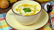 Фото рецепта Тыквенный крем-суп с грушами