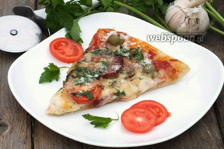 Пицца деревенская