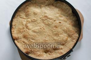 Выпекать приблизительно 30-40 минут, при 200°C, пирог должен подрумяниться.
