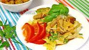 Фото рецепта Овощной салат с сухариками