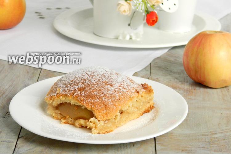 Фото Польский яблочный пирог