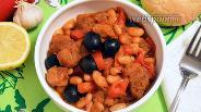 Фото рецепта Рагу из свинины с фасолью в мультиварке