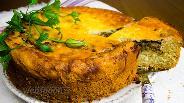 Фото рецепта Амишский пирог с начинкой из лука и мака