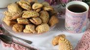 Фото рецепта Творожное печенье «Ракушки»