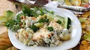 Фото рецепта Гратен из брокколи и картофеля