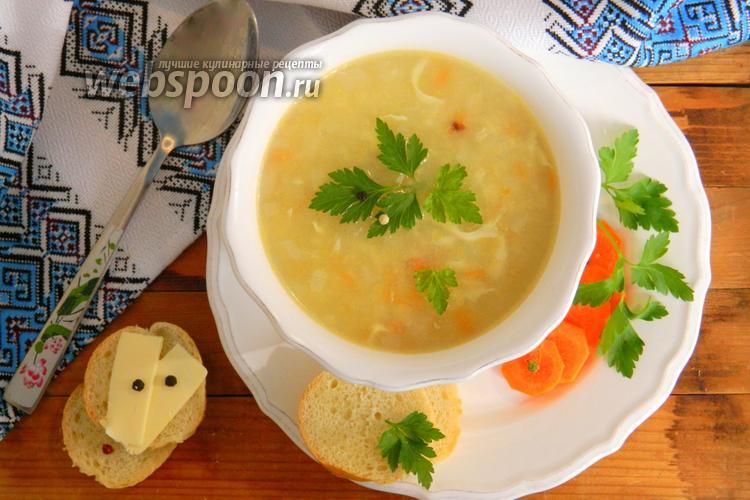 затируха рецепт с фото суп