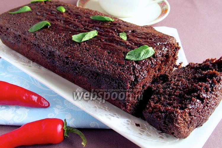 Фото Мексиканский шоколадный кекс